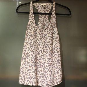 Joie Leopard print silk top size XXS